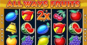 Always fruits slotmachine screenshot