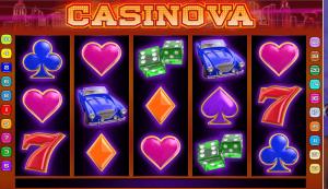 Casinova slotmachine