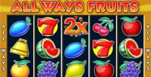 Always fruits slotmachine screenshot