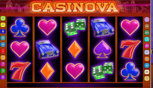 Casinova slotmachine